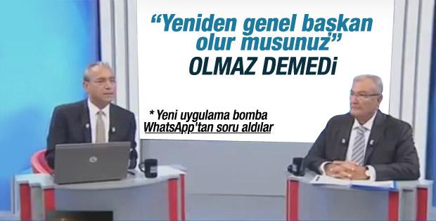 Deniz Baykal'a CHP liderliğine dönecek misiniz sorusu İZLE
