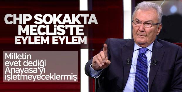 Deniz Baykal'dan Meclis'i çalıştırmayacağız açıklaması