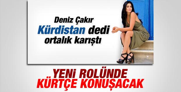 Deniz Çakır Kürt kadını rolünde ekranlara dönüyor