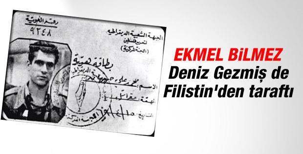 Deniz Gezmiş'in Filistin Kurtuluş Ordusu üyelik kartı