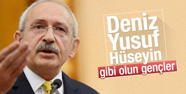 Kılıçdaroğlu gençlere Deniz Gezmiş'i örnek gösterdi
