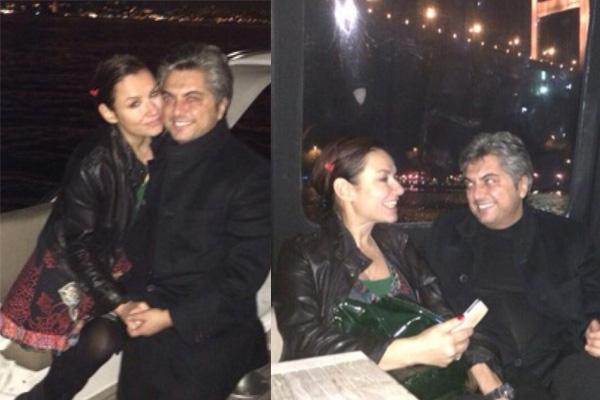 Nişanlısı Faruk Salman Deniz Seki'ye tekne hediye etti