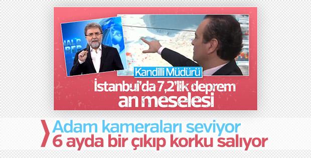 Kandilli'den İstanbul için bir deprem uyarısı daha