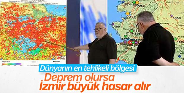 Celal Şengör Ege'deki fay hatlarını anlattı