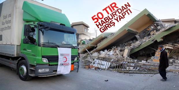 Türkiye'den Irak'taki depremzedelere yardım