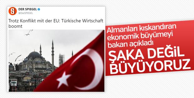 Bakan Tüfenkci: Şaka yapmıyoruz Türkiye büyüyor