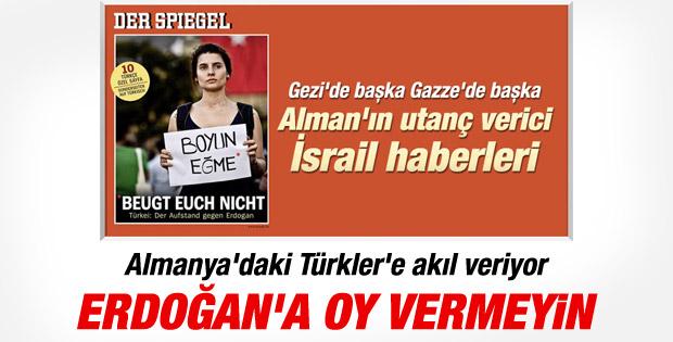 Alman Der Spiegel Erdoğan'ı kapak yaptı