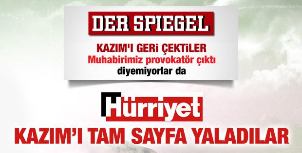 Hürriyet'in yeni umudu Der Spiegel muhabiri