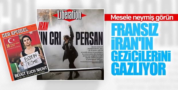 Avrupa medyası İran'daki olayları köpürtüyor