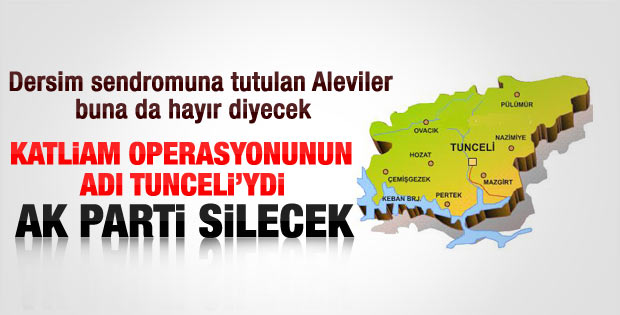 Başbakan'dan Tunceli yerine Dersim sürprizi