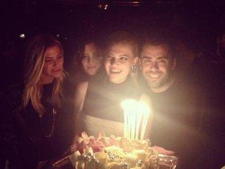 Derya Şensoy'un doğum günü partisi