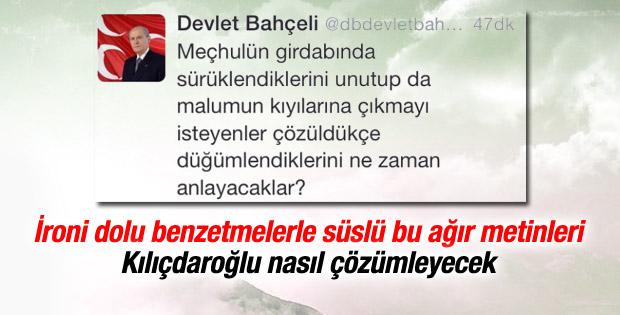 Devlet Bahçeli'den Kılıçdaroğlu'na sert yanıt
