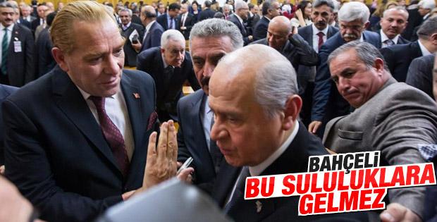 Bahçeli Atatürk selife'sini kibarca reddetti