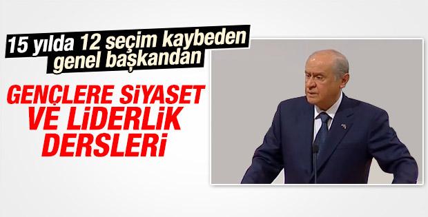 Devlet Bahçeli Ankara'da konuştu