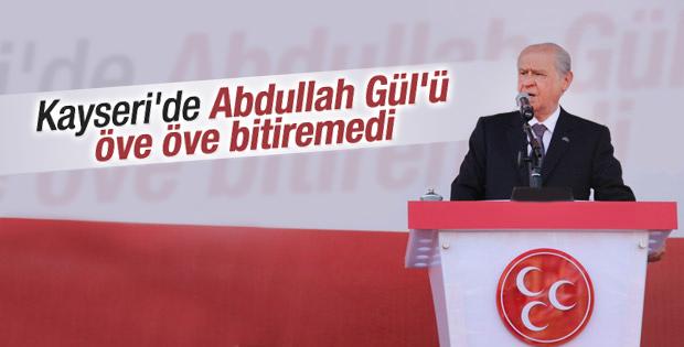 Bahçeli'den Abdullah Gül'e övgü dolu sözler