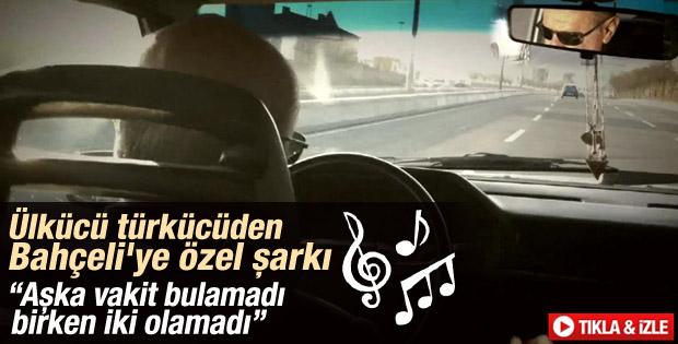 Mustafa Yıldızdoğan'dan Bahçeli'ye özel şarkı İZLE