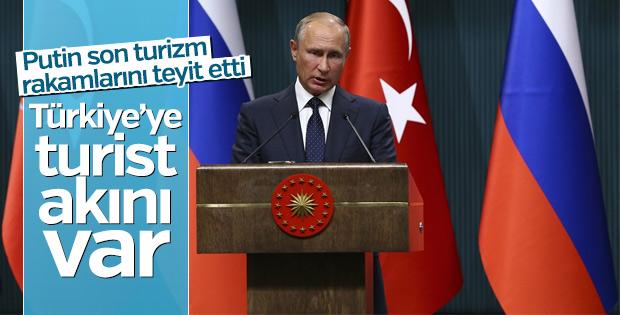 Putin, Külliye'de turist akımına dikkat çekti
