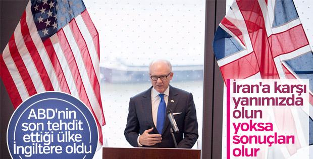 ABD Büyükelçisi'nden İngiltere'ye tehdit