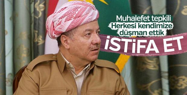 IKBY'de muhalefet Barzani'yi istifaya çağırdı