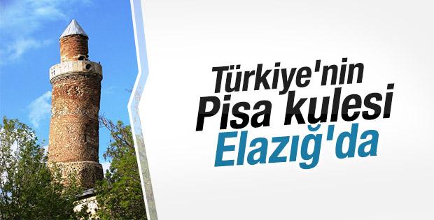 Türkiye'nin Pisa kulesi Elazığ'da