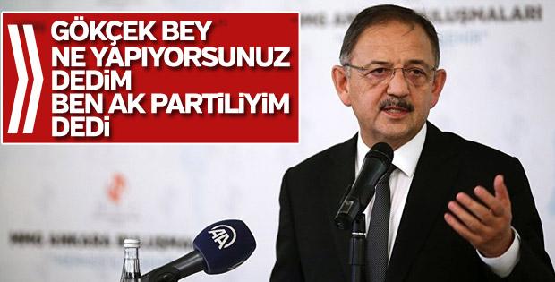 Melih Gökçek: Ben AK Partiliyim