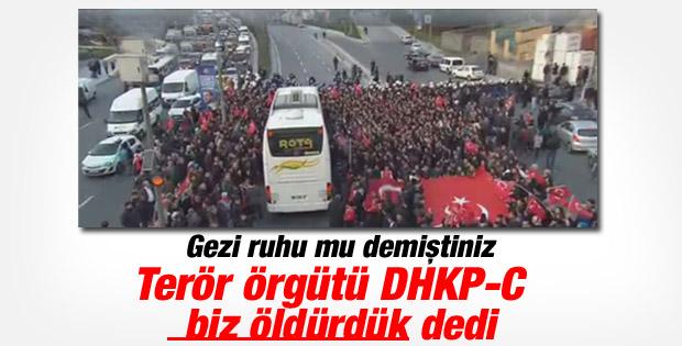 DHKP-C Okmeydanı'ndaki saldırıyı üstlendi