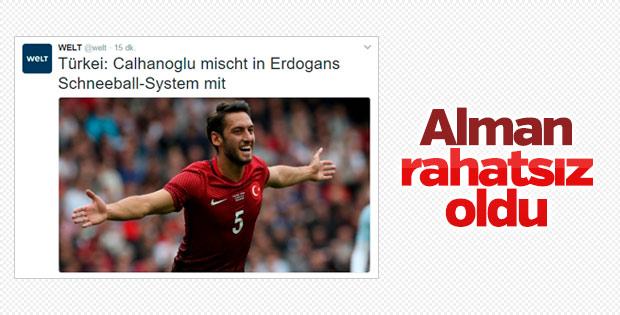 Hakan Çalhanoğlu'nun 'evet' demesi Alman medyasında