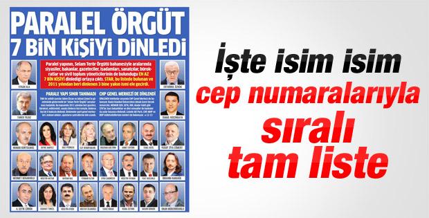 Erdoğan'dan 7 bin kişinin dinlenmesine ilk yorum