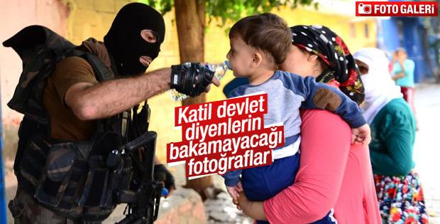 Diyarbakır'da PKK operasyonundan görüntüler