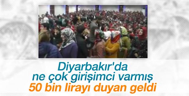 Diyarbakır'da hibe izdihamı