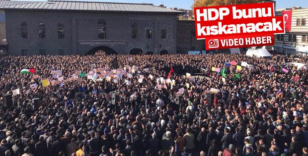 Diyarbakır Kudüs için toplandı