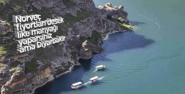 Diyarbakır artık terörle değil turizmle anılıyor