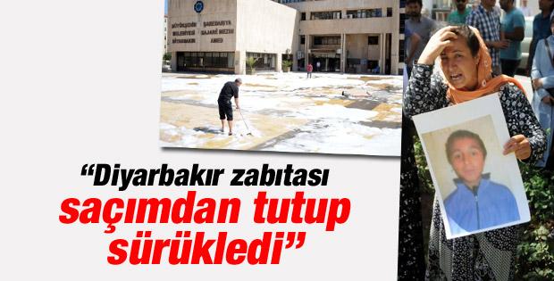 Diyarbakır'da eylem yapan ailelere zabıta engeli İZLE