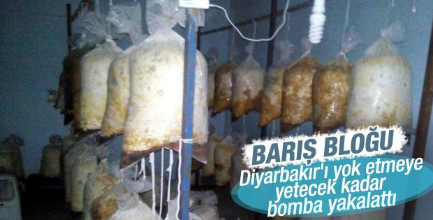 Diyarbakır'ı yok etmeye yetecek bomba yakalandı