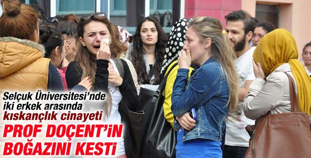 Selçuk Üniversitesi'nde doçent cinayeti