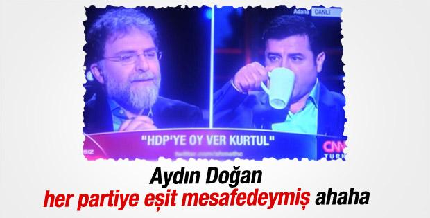 CNN Türk'te HDP'ye oy ver kurtul KJ'si