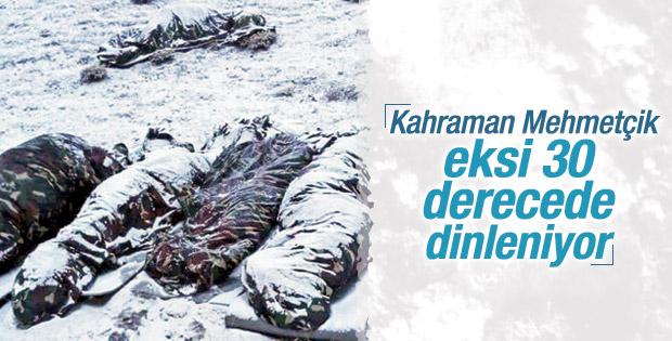 Mehmetçik eksi 30 derecede soğukla ve PKK'yla mücadelede