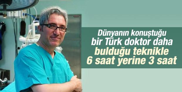 Türk cerrah Önder Sürgit bir ilki gerçekleştirdi