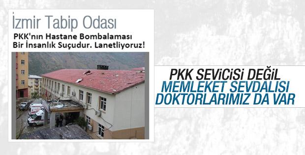 İzmir Tabip Odası PKK terörünü lanetledi