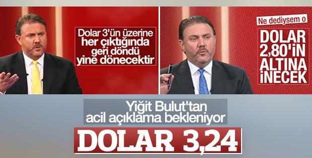 Doların ateşi düşmüyor: 3,24'ü gördü