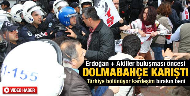 Erdoğan'la akillerin buluşması öncesi olay çıktı