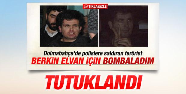 Dolmabahçe Sarayı'na saldıran zanlı tutuklandı