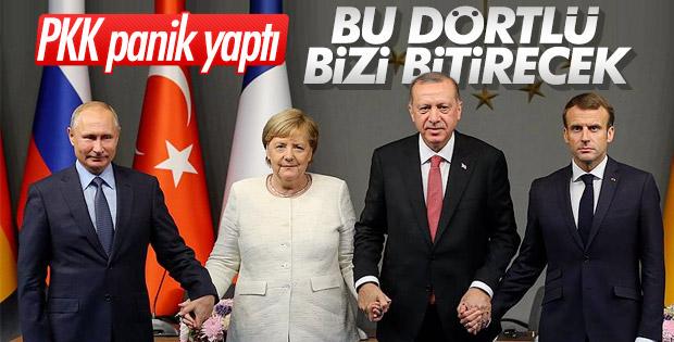 İstanbul'daki Suriye Zirvesi, PKK'yı endişelendirdi