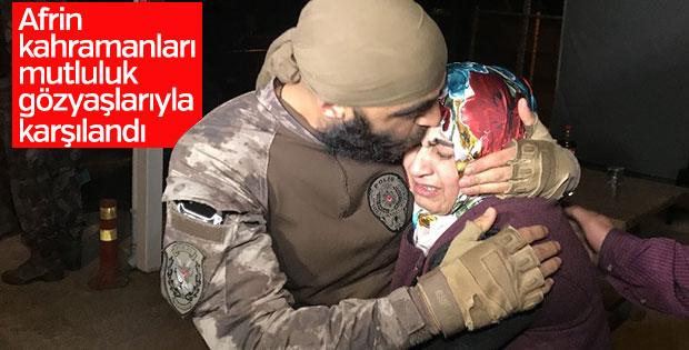 Bursa'dan Afrin'e giden 22 kahraman döndü
