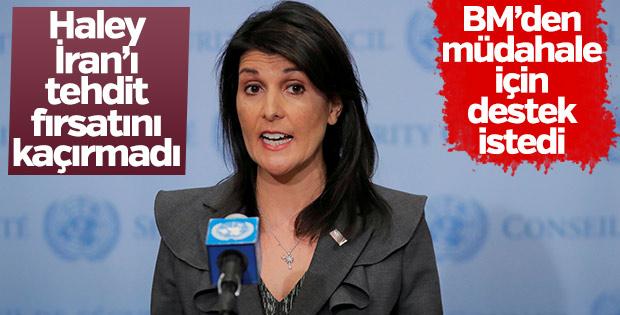 ABD İran'ı BM kararlarını ihlal etmekle tehdit etti