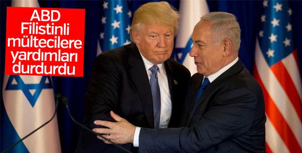 ABD Filistinli mültecilere yardımlarını durdurdu