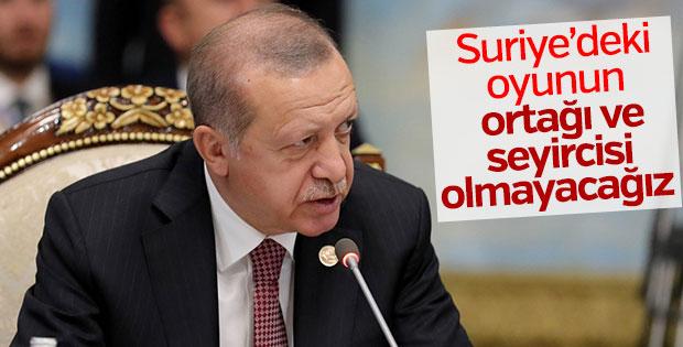 Erdoğan: Astana ruhuyla çözüme ulaşmalıyız