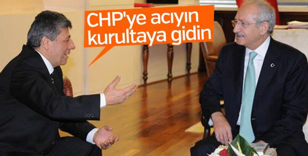 Mustafa Balbay'dan Kılıçdaroğlu'na kurultay çağrısı