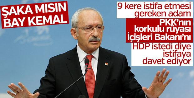 CHP Bakan Soylu'nun istifasını istedi