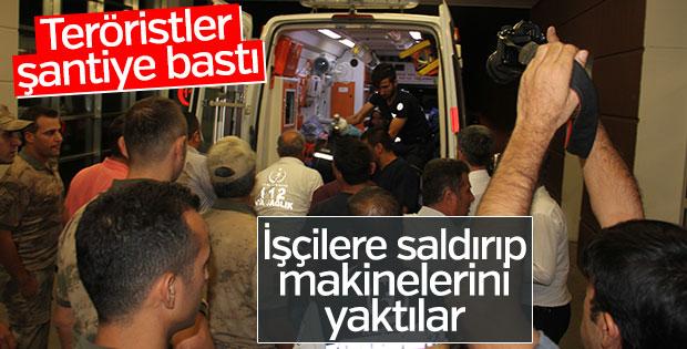 PKK Adıyaman'da mermer ocağına saldırdı